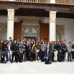 García-Page recibe a alumnos del IES Galileo Galilei de Puertollano