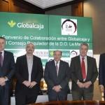 Globalcaja apoya la promoción del vino con un convenio con la DO La Mancha