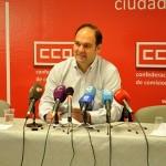 """CCOO advierte a una patronal """"cegada por la avaricia"""" de que, si no hay avances en los convenios, instará a los trabajadores a """"dar un golpe sobre la mesa"""""""