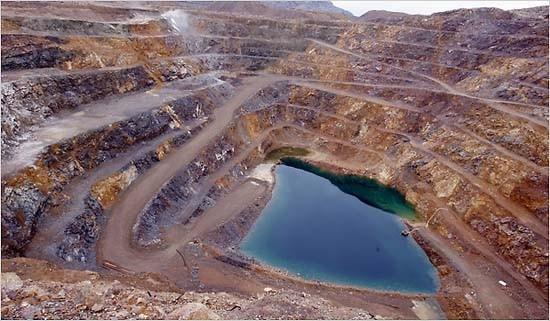 Mina de tierras raras en China