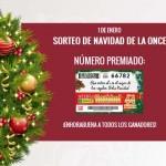 El Sorteo de Navidad de la ONCE reparte cuatro millones de euros en Ciudad Real