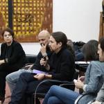 Pablo Iglesias se reúne en Toledo con el Consejo Ciudadano regional y los secretarios generales municipales de Castilla-La Mancha