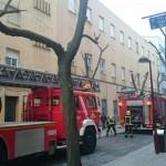 Los bomberos acuden al Colegio Hermano Gárate