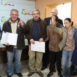 Tres familias de La Solana reciben las llaves de sus viviendas de promoción pública