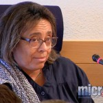La lección de una profesora francesa en el salón de plenos del Ayuntamiento de Ciudad Real