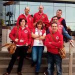 Siete voluntarios de Cruz Roja Ciudad Real en el Congreso Estatal de Voluntariado