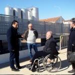 Lucas-Torres visita las obras municipales en marcha que continúan a buen ritmo y velando por la accesibilidad