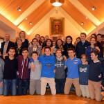 El Ayuntamiento despide a los 32 estudiantes franceses de intercambio con el Colegio Nuestra Señora del Prado