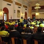 Los sindicatos presentan sus reclamaciones de cara a mejorar el acuerdo marco para los trabajadores