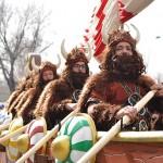 Domingo de Piñata 2016: El Burleta se lleva en drakkar el Arlequín de Oro a Campo de Criptana
