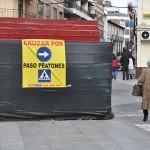 """El PP denuncia la """"falta de interés"""" del equipo de gobierno hacia la accesibilidad y pone como ejemplo el itinerario de la calle Ruiz Morote"""