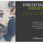 """Ciudad Real: El PACMA convoca una concentración en protesta ante la """"ola de crímenes"""" en Puertollano contra los animales"""