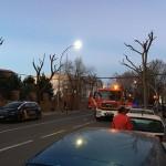 Ciudad Real: Los bomberos sofocan un incendio en la cocina de un piso de la calle Calatrava