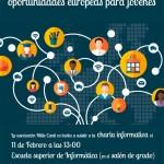 Informática acoge charlas informativas sobre Erasmus+ y otros programas de movilidad europeos