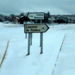 La nieve visita el este de la provincia