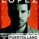 Pablo López actuará en la Feria de Mayo de Puertollano
