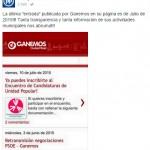 El Partido Popular se mofa de la falta de actualización de la web de Ganemos Ciudad Real