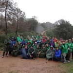 Puertollano: Nueva ruta senderista del Club Pozo Norte por la Sierra de Cordoneros en Almadén