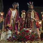 Pilatos celebra el 75 aniversario de la llegada de la imagen del Ecce Homo a Ciudad Real y el 50 de la creación de su cuadrilla de costaleros