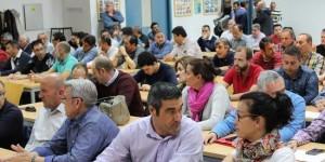 Asamblea de trabajadores de Elcogas (Foto de archivo)