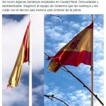El PP exige al equipo de gobierno que cuide el estado de las banderas nacionales de la ciudad