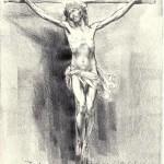 Puertollano: La parroquia de la Virgen de Gracia recibe el boceto del Cristo del Perdón que será instalado en la capilla penitencial