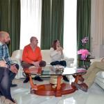 La Asociación de Personas Sordas de Ciudad Real presenta a Caballero los actos de su veinticinco aniversario