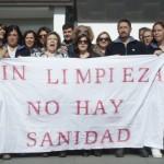 Los trabajadores de limpieza del Hospital de Ciudad Real denuncian su situación laboral