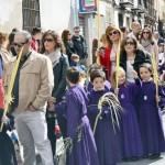 Los niños protagonizan el Domingo de Ramos en Daimiel
