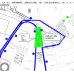 Ciudad Real: Nota municipal sobre afectación al tráfico con motivo del asfaltado de vías próximas a la Puerta de Toledo