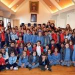 El Ayuntamiento recibe la visita de escolares de centros educativos de Ciudad Real y Toulouse