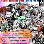 Ciudad Real: El Colectivo Kokoro organiza el primer Festival de la Caricatura y el Retrato