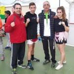 Puertollano: Roberto Ortiz y Natalia Vicario competirán en el Campeonato nacional de Kick Boxing