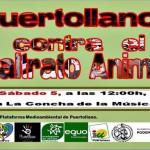 La Plataforma Medioambiental de Puertollano convoca este sábado una concentración contra el maltrato animal