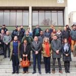 Puertollano: Un minuto de silencio a las puertas del Ayuntamiento por los atentados de Bruselas