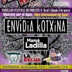 Envidia Kotxina y Mamá Ladilla, cabezas de carteldel Olmo Rock 2016 en Poblete