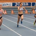 Valdepeñas: Paula Sevilla, subcampeona de España junior de los 60 metros
