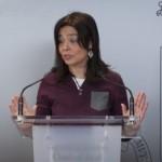 """Pilar Zamora opina que la Semana Santa """"es de las hermandades"""" y que la polémica sobre la asistencia a las procesiones solo la perjudica"""