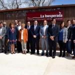 """Inaugurado el Centro de Interpretación del agua volcánica """"La Inesperada"""" de Pozuelo de Calatrava"""