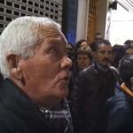 (Vídeos) Puertollano: Saetas y levantás en la calle Aduana durante la procesión del Ecce Homo