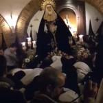 Complicada maniobra: Emoción y sobriedad castellana a la entrada de la Soledad en Puertollano