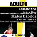 'Lisístrata' y 'Malos hábitos' en el Viernes de Adultos de la Biblioteca