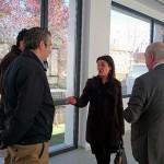 La alcaldesa de Ciudad Real visita las obras de la nueva sede del Colegio de Abogados