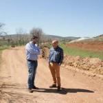 López Alcorocho repasa con el alcalade de Corral de Calatrava las inversiones de la Diputación