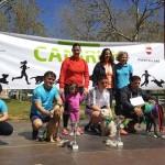 Puertollano: Zarco, Princesa y Canela en el podio de la segunda edición de Canirun