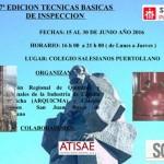 ARQUICMA promueve en Puertollano la séptima edición del Curso Técnicas Básicas de Inspección