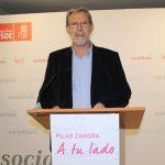 El portavoz del PSOE resalta la «cercanía» de la alcaldesa Pilar Zamora