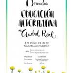 Las I Jornadas de Educación Alternativa de Ciudad Real se celebrarán en la Facultad de Educación