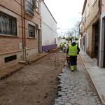 Manzanares: «A buen ritmo» las obras de eliminación de barreras arquitectónicas y semipeatonalización del casco antiguo