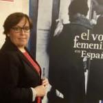 Olmedo rinde homenaje a las mujeres en la presentación de la exposición 'El voto femenino en España'